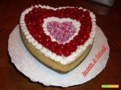 TORTA CUORE D'AMORE