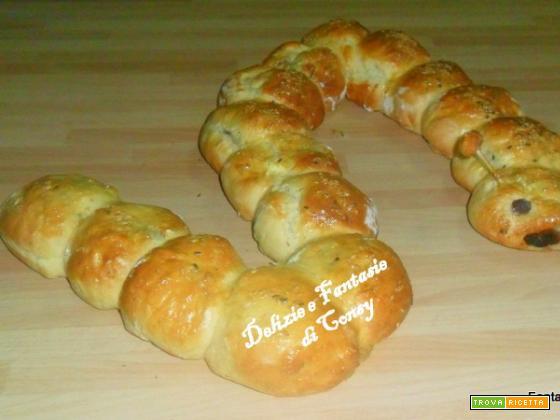 Il bruco pan brioche rustico