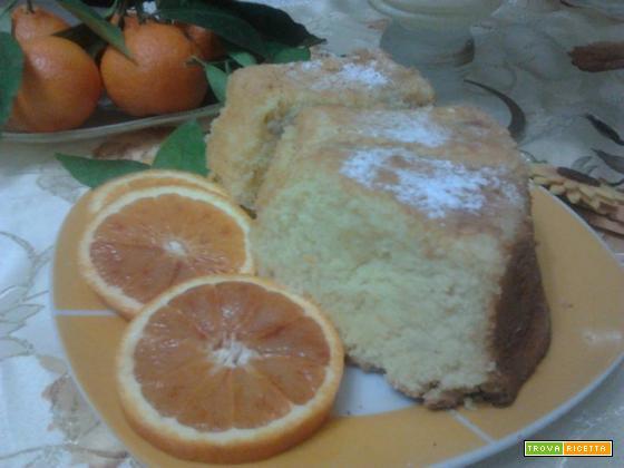 torta di mele e arancia