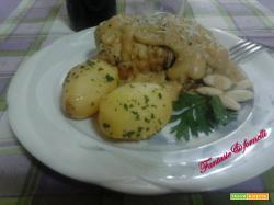 involtini di pollo con crema