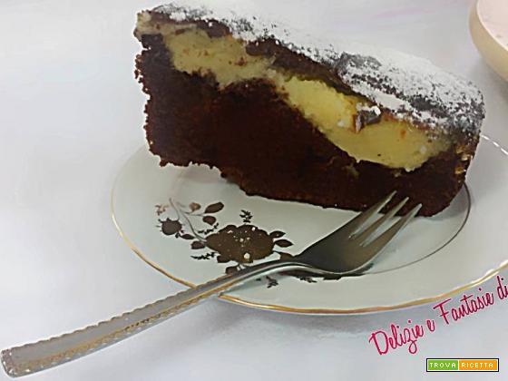 Torta nua al ckocolate senza burro