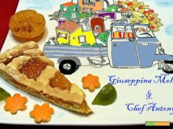 Crostata con confettura di marmella