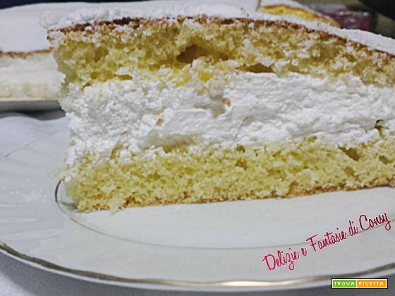 Torta Paradiso con philadelphia