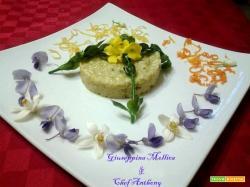Risotto con asparagi e agrumi di Sicilia