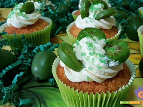 Cupcake con mousse di lime e Nergi