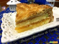 Torta mandorlata con confettura di albicocca