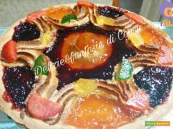 Crostata di marmellate e frutta candita