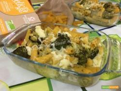 Tortiglioni Gluten Free con broccoli e scamorza