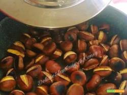 Castagne arrosto con magic cooker