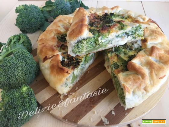 Tortino rustico con broccoli