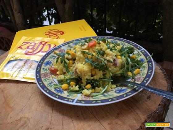 Insalata di riso primavera con Zaffy