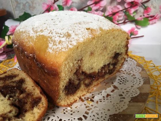 Plumcake soffice con Cioccolato senza burro