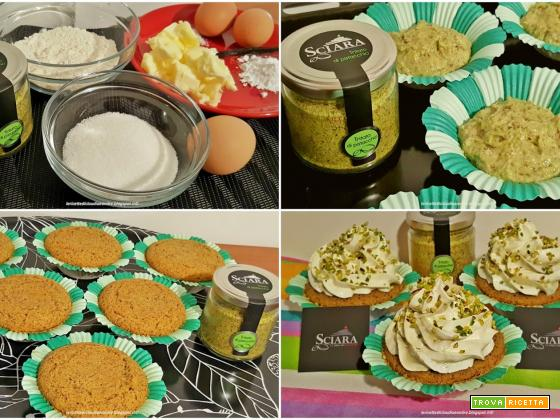 Mega cupcake al pistacchio