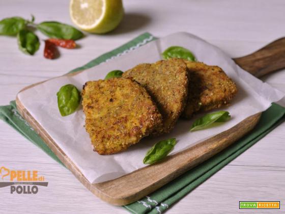 Cotolette di pesce spada con pistacchi e paprika
