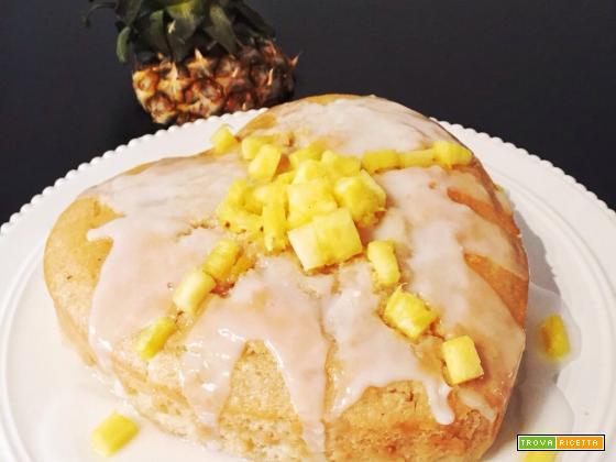 Torta light all'ananas