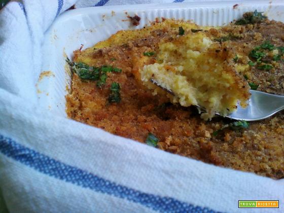 Sformato di merluzzo e patate