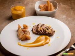 Petto d'anatra con zabaione di Zibibbo, una ricetta sfiziosa