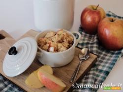 Cous cous con mele, mandorle e pollo
