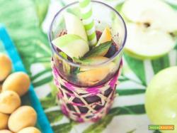 Granita mela verde e sambuco: un mix di sapori tutto da gustare