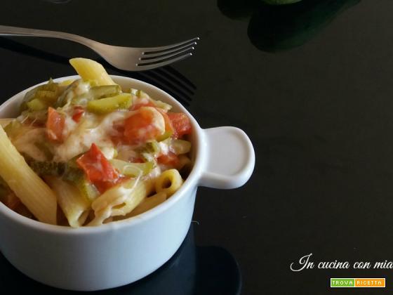 Pasta estiva tricolore – ricetta velocissima e sfiziosa