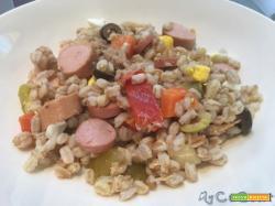 Insalata di farro, ovvero multicottura con il CuCo Moulinex e cottura dei cereali