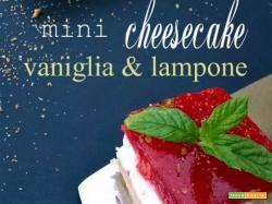 Mini cheesecake ai frutti di bosco e vaniglia