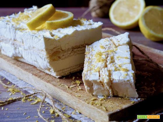 Semifreddo Wafer e Limone