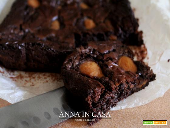 Brownies veloci con albicocche