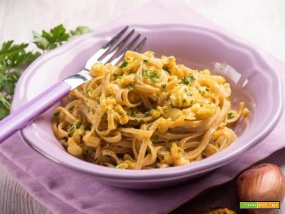 Tagliatelle di riso integrale al branzino: un tocco di salute nella vostra cucina