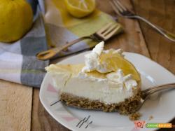 Torta fredda al limone e cioccolato bianco (Senza burro)