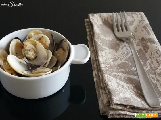 Sautè di vongole – Ricetta tradizionale di pesce