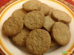 Biscotti ai cereali e sciroppo d'acero