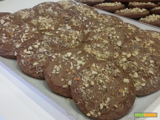 Biscotti al cacao e cioccolato