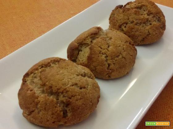 Biscottini al farro con ricotta e cannella