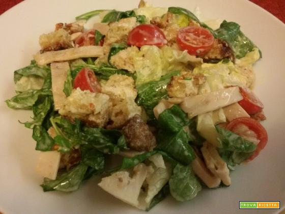Caesar salad con maionese saporita