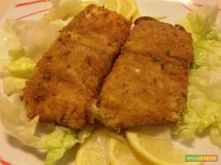 Filetto di pesce persico a cotoletta