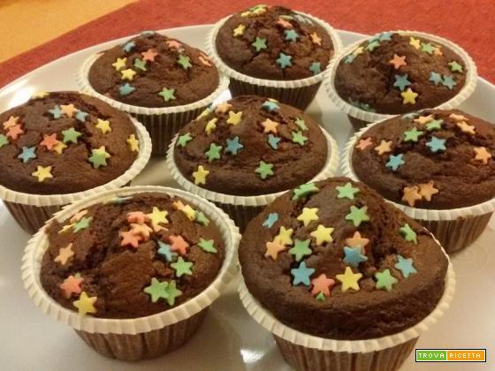 Muffin ai pan di stelle