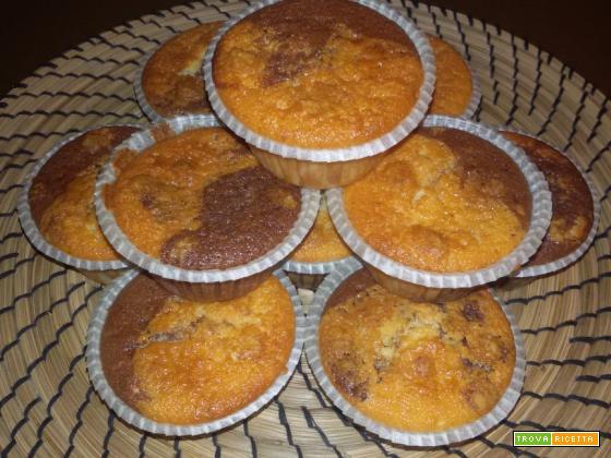 Muffin vaniglia e cacao