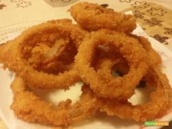 Onion rings (anelli di cipolla fritti)