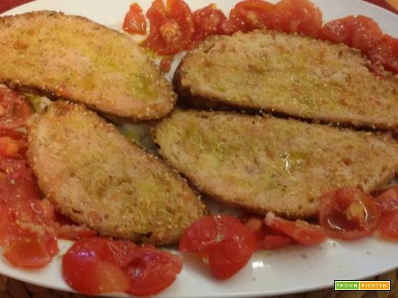 Pan e pummarol (pane e pomodoro)