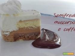 Torta semifreddo mascarpone e caffè