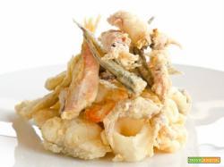 Fritto misto di pesce sette regole per un fritto perfetto