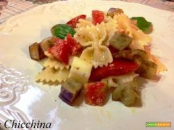 Insalata di pasta alla parmigiana