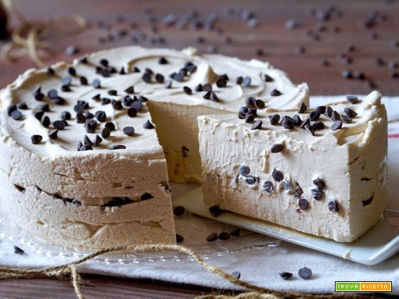 Torta Gelato al Cioccolato e Caffè