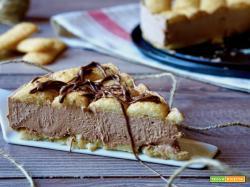 Torta Fredda ai Pavesini e Nutella