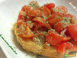 Freselle senza glutine con pomodorini