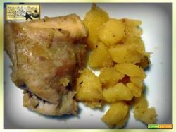 Coniglio con Patate con il metodo Amc
