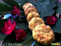 Medaglioni di patate e salsiccia piccante