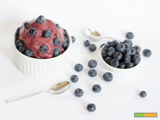 Banana ice cream – gelato vegan con 1 ingrediente