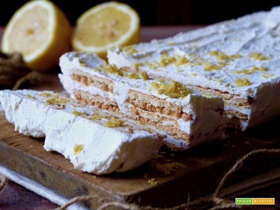 Semifreddo Di Biscotti al Limone